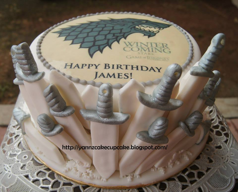 game of thrones cake yannzcakecupcakecom. Black Bedroom Furniture Sets. Home Design Ideas