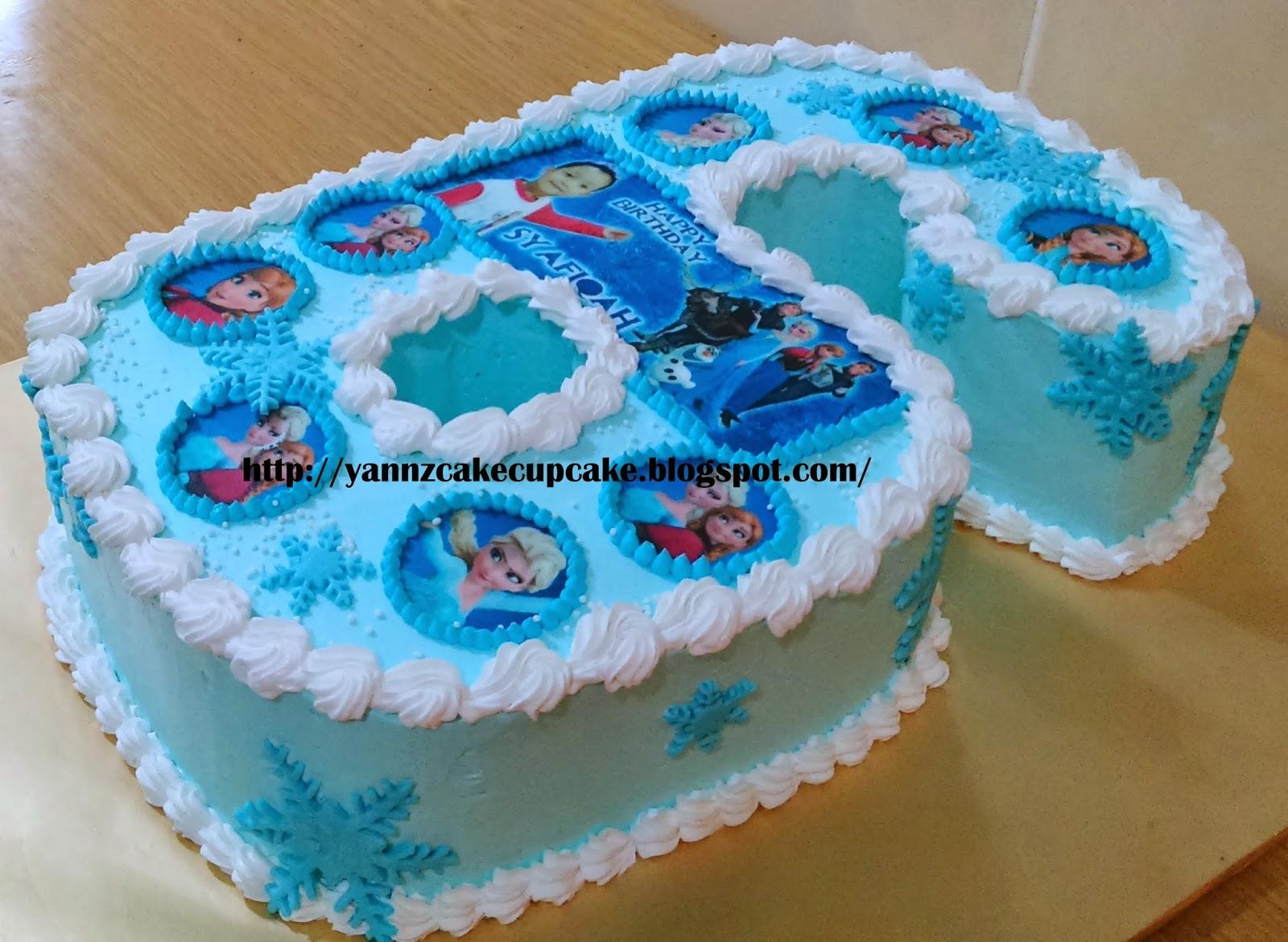 Number 6 Cake Yannzcakecupcakecom