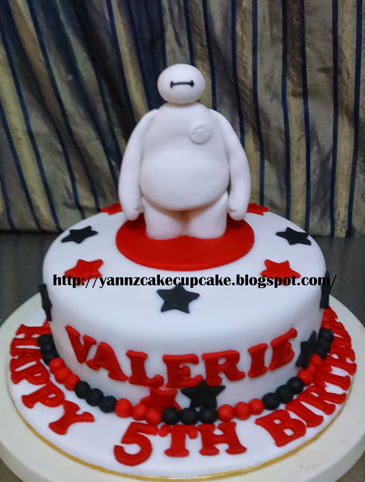 Pleasing Baymax Star For Valerie Yannzcakecupcakecom Funny Birthday Cards Online Necthendildamsfinfo