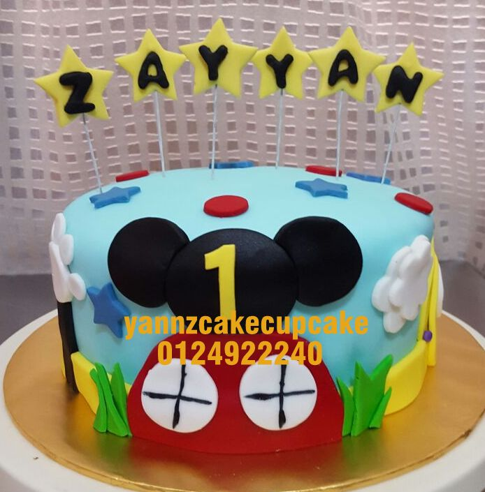Super Mickey Mouse Club House Yannzcakecupcakecom Funny Birthday Cards Online Overcheapnameinfo