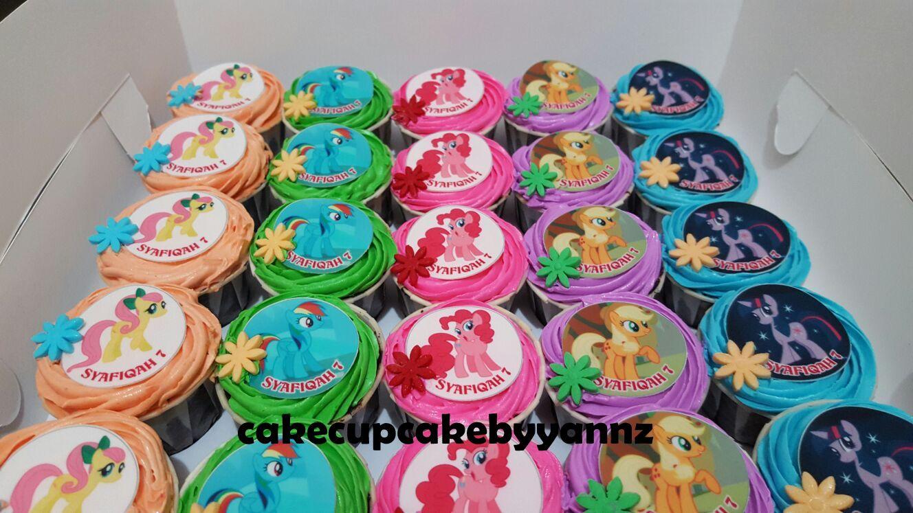 Little Pony Cake Amp Cupcakes For Syafiqah Yannzcakecupcakecom