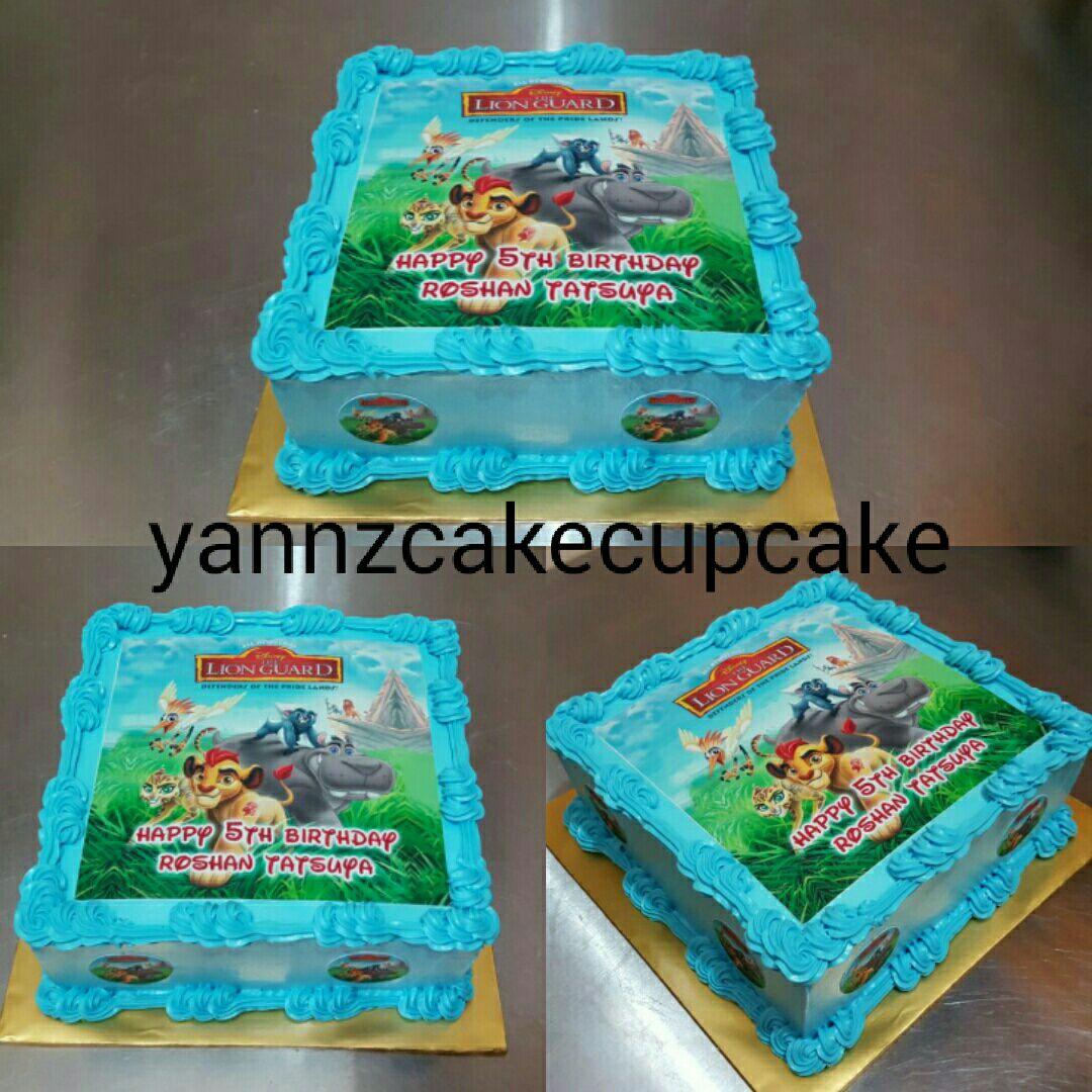 Roshan Tatsuya Lion Guard Cake yannzcakecupcakecom