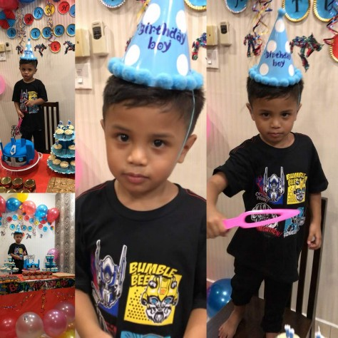 Aiman Hakim 4th Birthday5