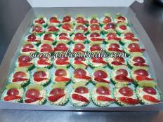 Fruit tart for Teacher Aqilah SMKSJ