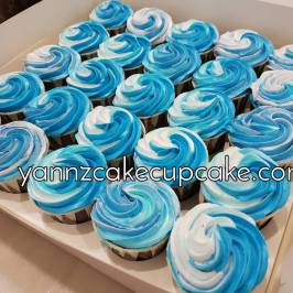 basic buttercream cupcakes
