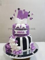 2 tier girl cake