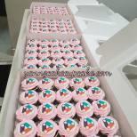 company logo cupcakes
